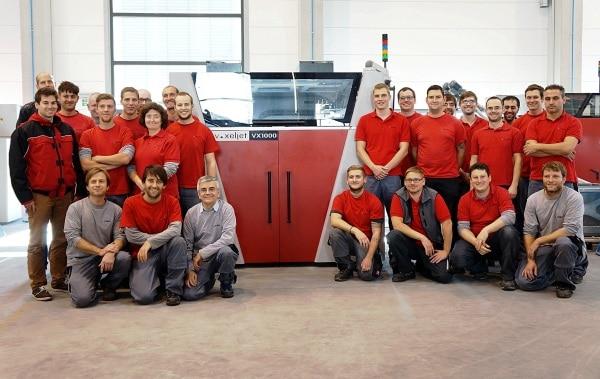 VoxelJet fête sa 100ème imprimante 3D !