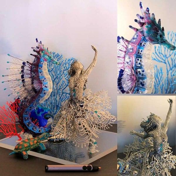 dessin imprimé en 3D