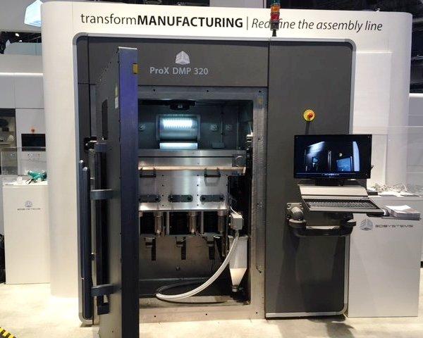 ProX DMP 320 : la nouvelle imprimante 3D métal de 3D Systems