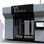 Bientôt en France ! L'imprimante 3D géante de MASSIVIT 3D