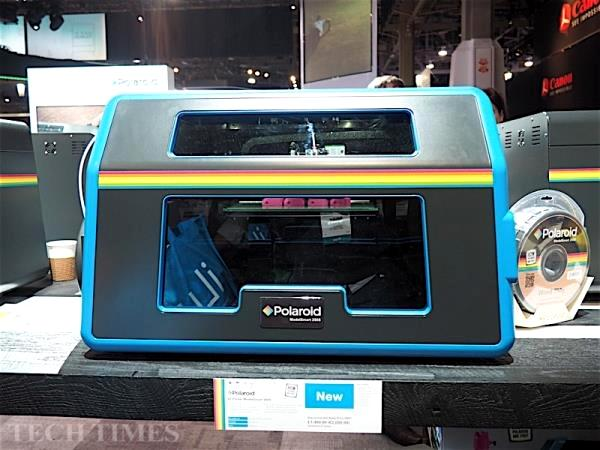 Polaroid dévoile sa première imprimante 3D !