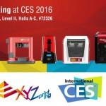 XYZprinting présente 10 nouveautés dont une imprimante 3D à 269 $ !