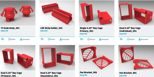 3DMakers : une plateforme de modèles 3D pour PC !
