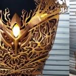 Une magnifique armure imprimée en 3D pour l'actrice Felicia Day