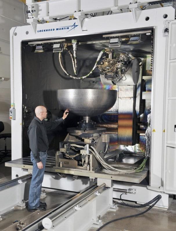 Sciaky enrichit sa technologie d'impression 3D métal avec un nouveau système de contrôle