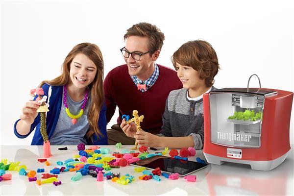 Mattel lance une imprimante 3D à 299 $ pour les enfants