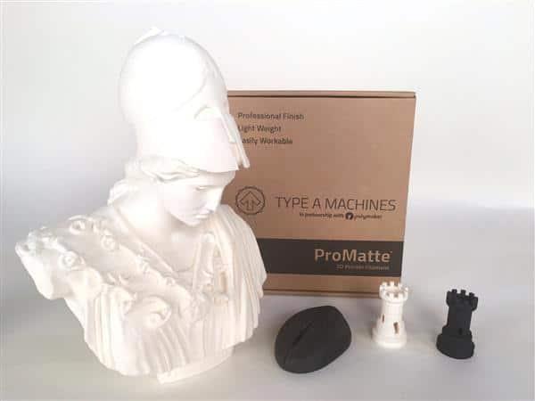 ProMatte : un filament d'impression 3D 30% plus léger que le PLA