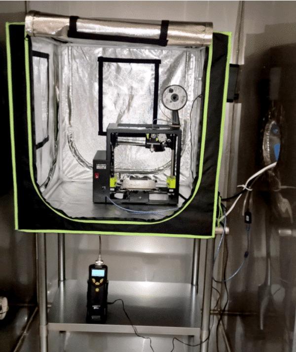 un caisson de filtration ultra l ger pour imprimante 3d