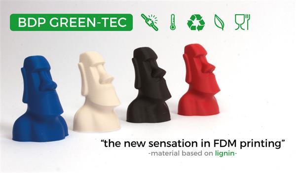 Extrudr dévoile un nouveau filament pour imprimantes 3D 100% biodégradable