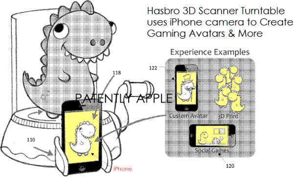 Hasbro transforme l'iPhone en scanner 3D pour enfants