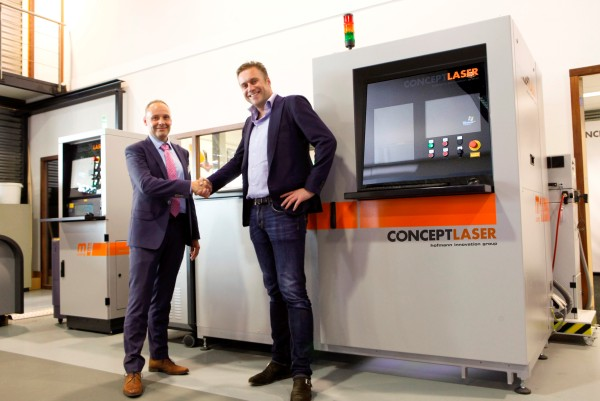 161 machines vendues par Concept Laser en 2015 !