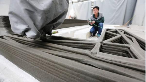 Le marché de l'impression 3D béton estimé à 56,4 M $ en 2021