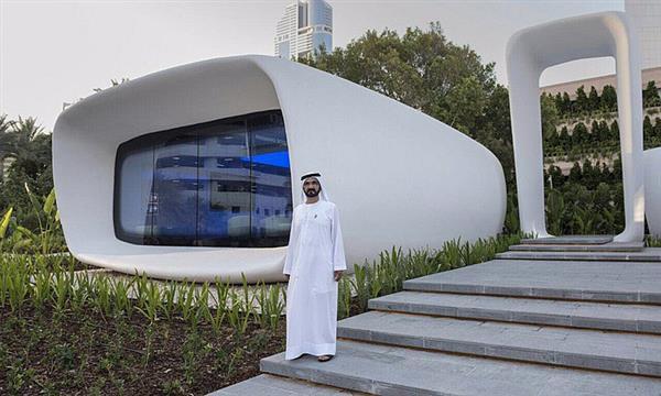 Dubaï construit des bureaux par impression 3D