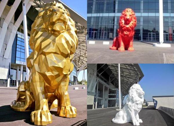 lion impression 3d OL