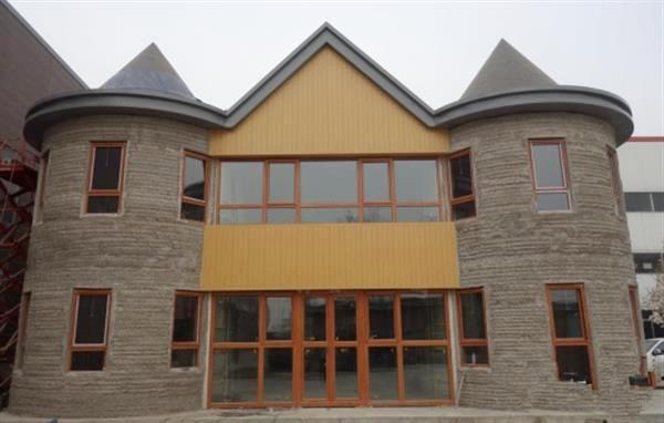 Chine : Un concurrent de Winsun construit une villa de 400 m2 par impression 3D