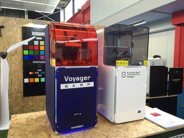 Sharebot lance une nouvelle imprimante 3D DLP ultra-rapide