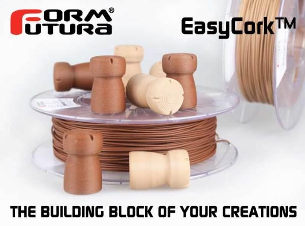 Formfutura dévoile un nouveau filament à base de liège !