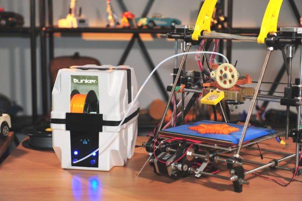 Filament Bunker : une cartouche intelligente pour réussir vos impressions 3D
