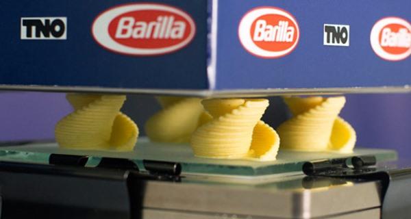 Pâtes imprimées en 3D : Barilla poursuit ses recherches !