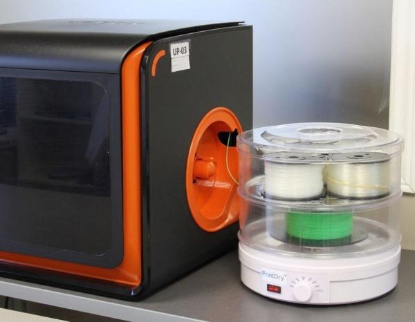 sechoir à filament d'impression 3D