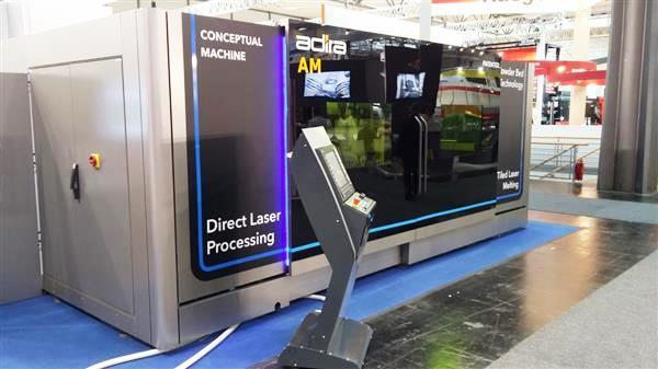 ADIRA : une imprimante 3D métal XXL dotée d'un volume d'impression record !