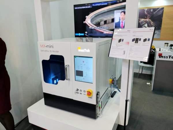 InssTek dévoile une imprimante 3D métal parmi les plus compactes du marché !