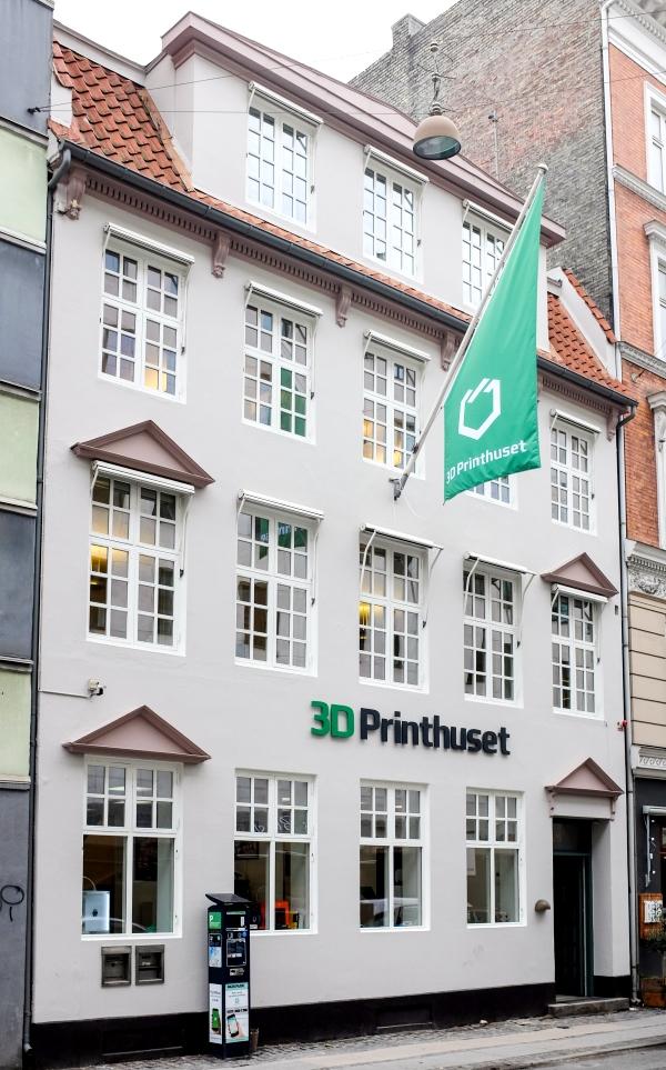La plus grand magasin d'impression 3D ouvre ses portes au Danemark !