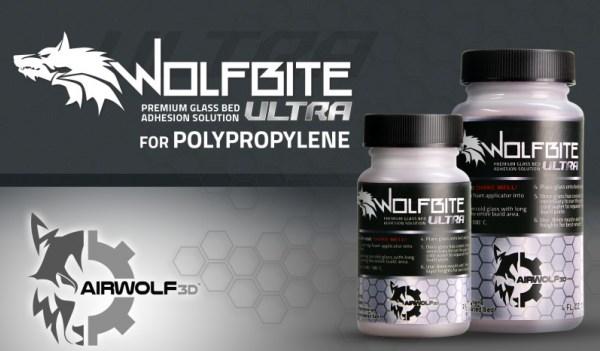 Airwolf 3D lance une nouvelle solution adhésive pour le polypropylène !