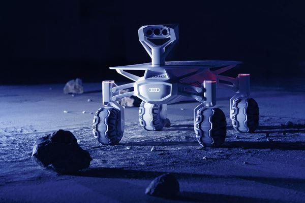 Bientôt une Audi imprimée en 3D sur la lune ?