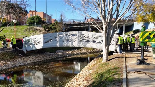 L'Espagne dévoile le premier pont imprimé en 3D !