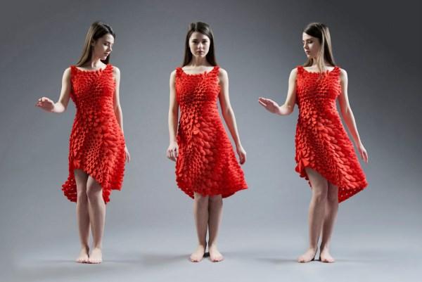 les plus belles robes fabriquées par impression 3D