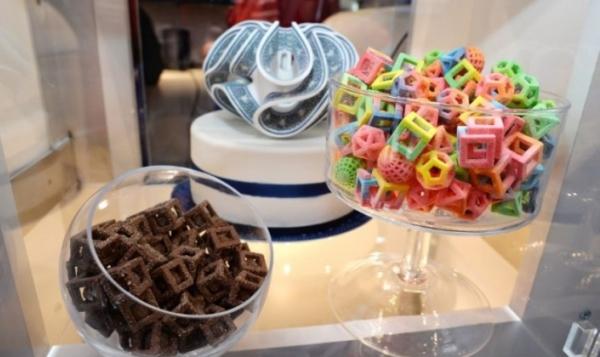 confiseries et chocolats imprimés en 3D