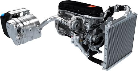 moteur de véhicule Renault Trucks