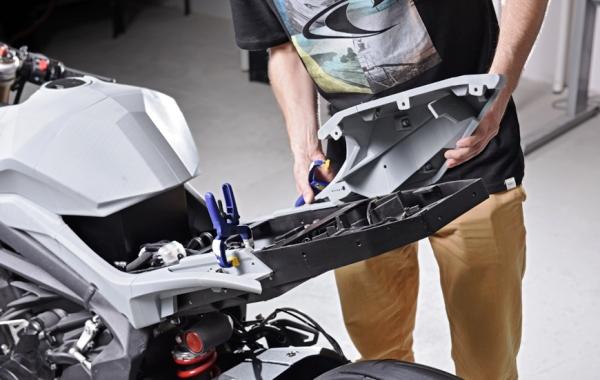 3d Rider Zortrax Dévoile Une Moto Imprimée En 3d