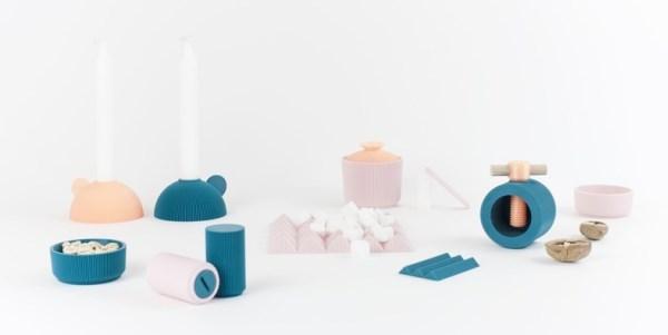 Cults dévoile une collection de vaisselle imprimable en 3D