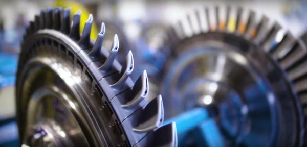 aubes de turbines imprimées en 3D