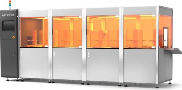 3D Systems dévoile un système d'impression 3D 50 fois plus rapide !