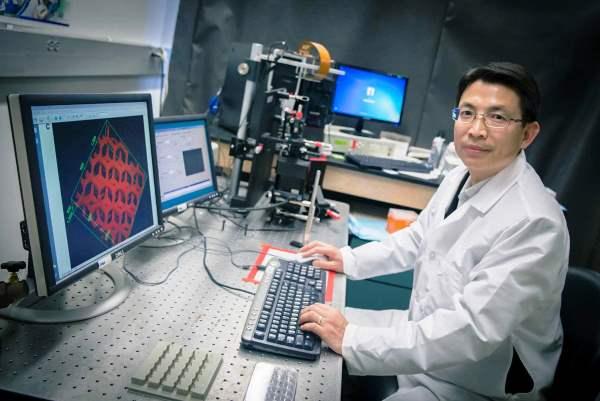 Des vaisseaux sanguins créés par un système d'impression 3D à UV !