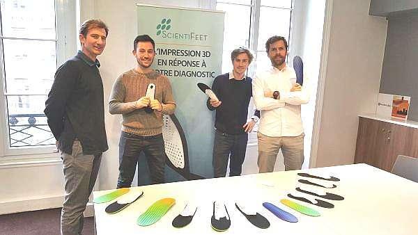Rencontre avec ScientiFeet et ses semelles orthopédiques imprimées en 3D !