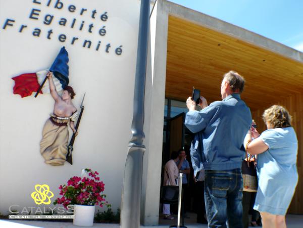 « La liberté guidant le peuple » : une sculpture imprimée en 3D à la mairie de Néoules