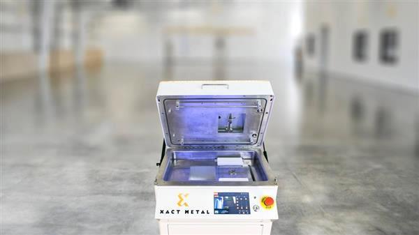 Xact Metal rend l'impression 3D métal plus accessible aux entreprises