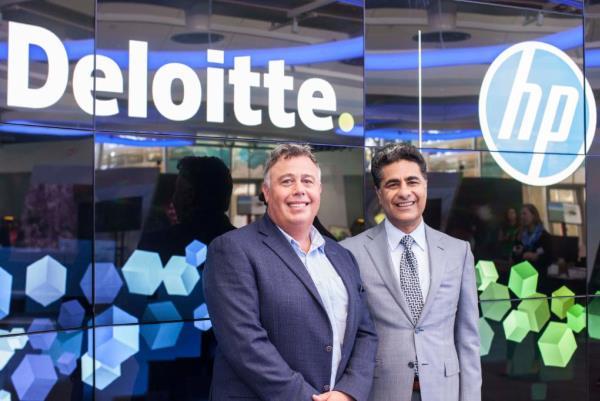 HP s'associe à Deloitte pour accélérer sa technologie d'impression 3D