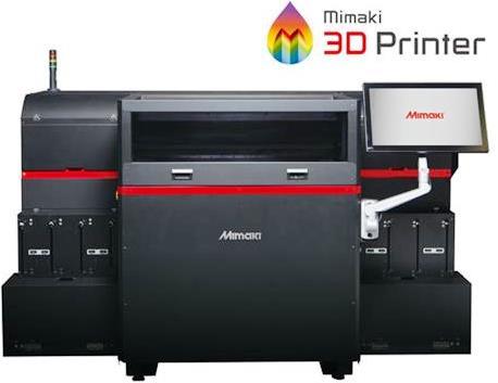 Le japonais Mimaki annonce une imprimante 3D industrielle multi-couleurs