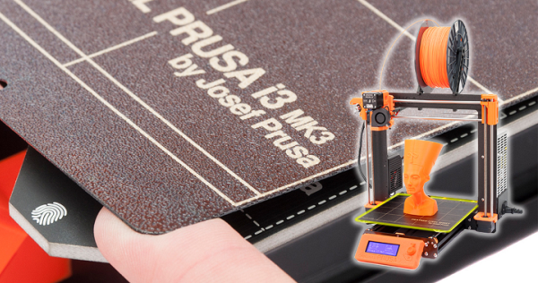 Prusa dévoile l'Original Prusa i3 MK3 sa dernière génération d'imprimantes 3D