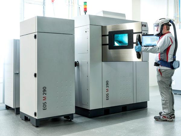 EOS lance un système pour faciliter le traitement des poudres métalliques