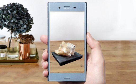Sony Xperia XZ1 permet de scanner des objets imprimables en 3D