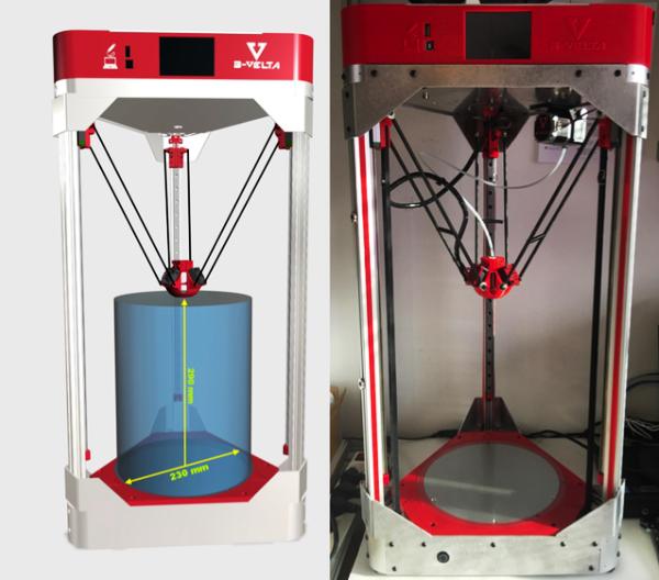 B-VELTA : une imprimante 3D delta française à moins de 1000 €