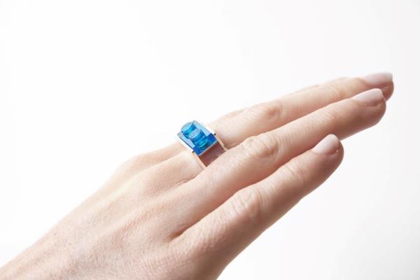 bague Lego fabriquée par impression 3D