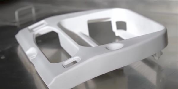 cadre plastique de moniteur vidéo imprimé en 3D