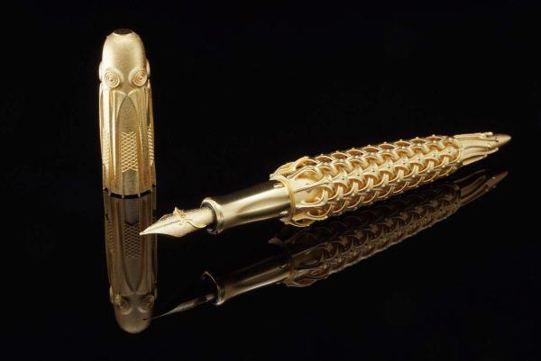 Un stylo plume imprimé en 3D en or massif !